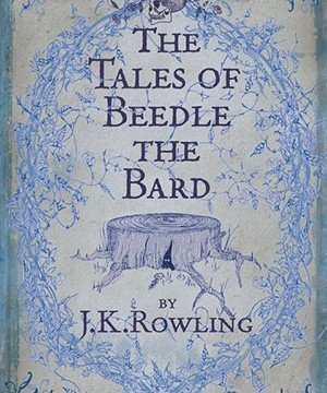 Omslag: J.K. Rowling - The Tales of Beedle the Bard