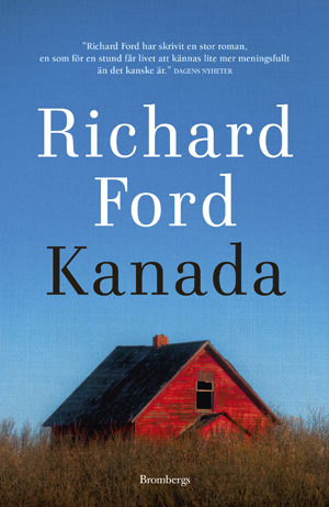Omslag: Richard Ford - Kanada
