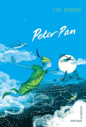 Omslag: J.M. Barrie - Peter Pan