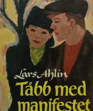 Omslag: Lars Ahlin - Tåbb med manifestet