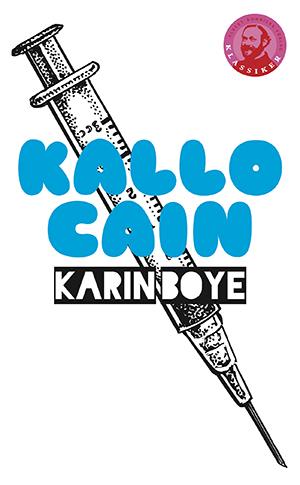 Omslag: Karin Boye - Kallocain