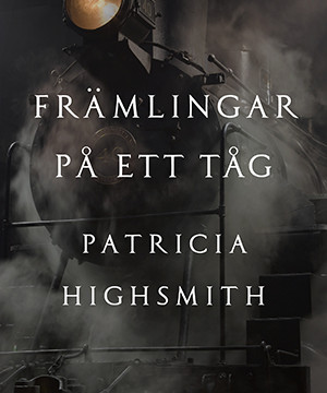 Omslag: Patricia Highsmith - Strangers on a train