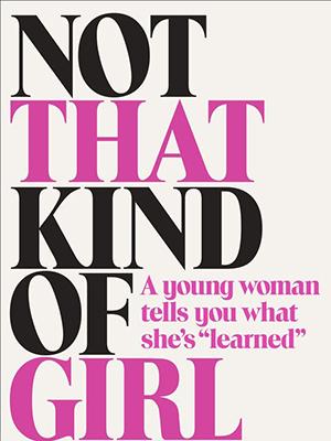 Omslag: Lena Dunham - Not that kind of girl