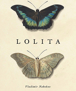 Omslag: Vladimir Nabokov - Lolita