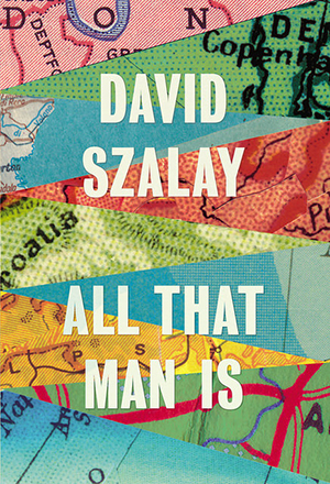 Omslag: David Szalay - All that man is
