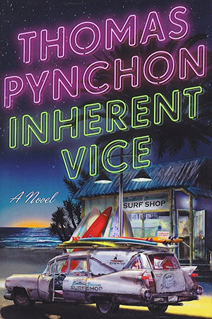 Omslag: Thomas Pynchon - Inherent vice