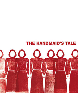 Omslag: Margaret Atwood - The handmaid's tale