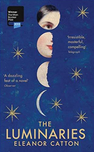 Omslag: Eleanor Catton - The Luminaries
