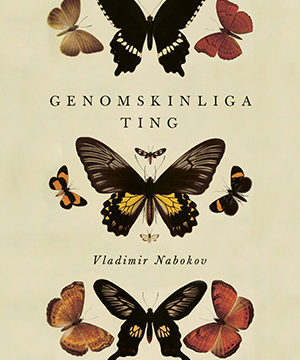 Omslag: Vladimir Nabokov - Genomskinliga ting