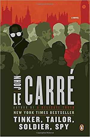 Omslag: John le Carré - Tinker, tailor, soldier, spy